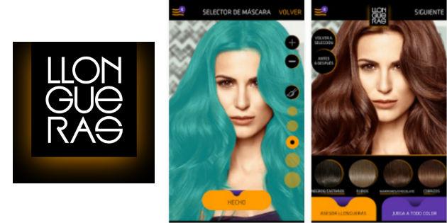 Esta app te dice qué color de pelo te favorece