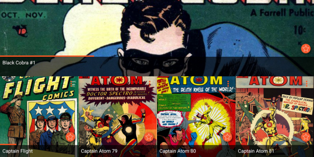 Astonishing Comic Reader, tu amistosa app para disfrutar del noveno arte