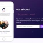 Mylestoned, una app para recordar a tus seres queridos fallecidos