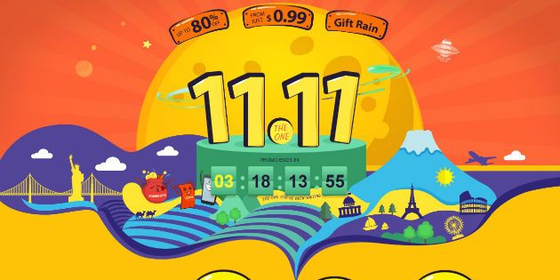 GearBest rompe los precios por el 11 del 11