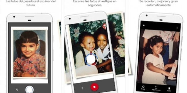 PhotoScan, la nueva app de Google para digitalizar fotos antiguas en papel