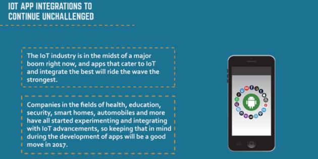 Infografía: Las tendencias que seguirán las apps en 2017