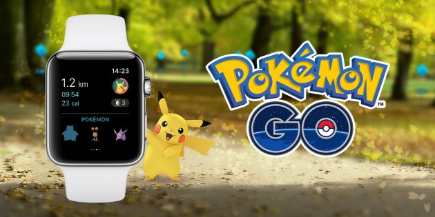 Pokémon Go llega al Apple Watch