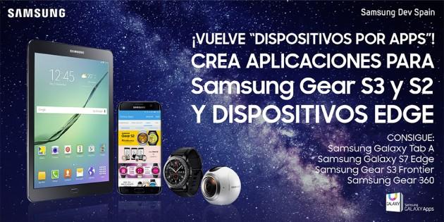 Samsung vuelve a tentar a los desarrrolladores con Dispositivos por Apps