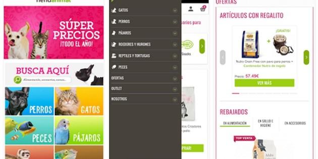 Tiendanimal aterriza en iOS y Android