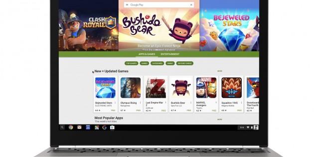Todos los Chromebooks lanzados este año podrán ejecutar aplicaciones Android