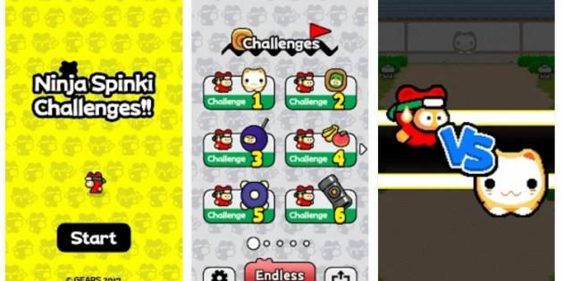 El creador de Flappy Bird vuelve con Ninja Spinki Challenges