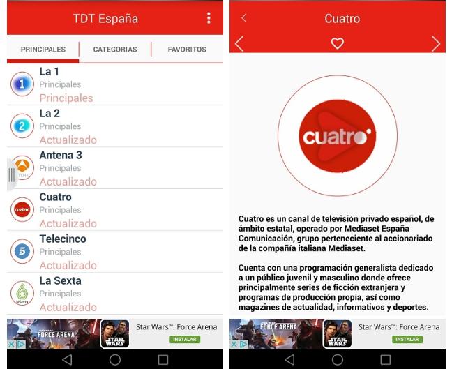 TDT España triunfa en Google Play y sus apps clónicas también