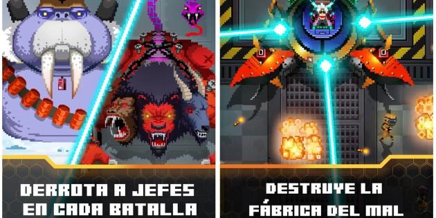 Evil Factory, el juego retro en el que deberás destruir una fábrica maldita