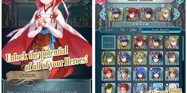 El truco para obtener mejores personajes en Fire Emblem Heroes