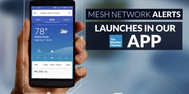 IBM contará con una app de alertas meteorológicas que informará sin conexión a la Red