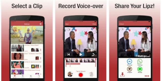 MadLipz, la app que te convierte en actor de doblaje
