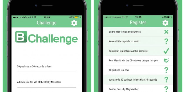 Gestiona los retos con tus amigos con iBetforFun
