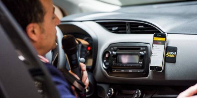 Midas Connect convierte a cualquier coche en conectado