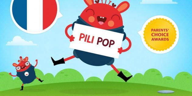 Pili Pop Français, la nueva app que enseña francés a los más pequeños