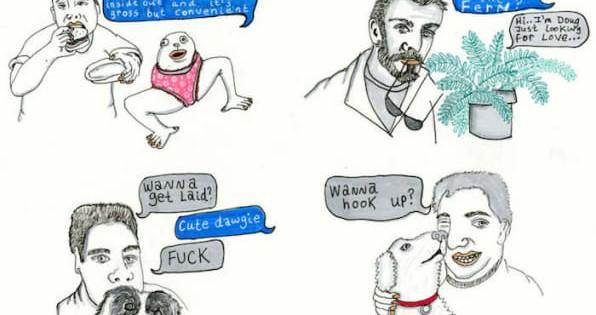 Estos son los mensajes que suele recibir una mujer en Tinder