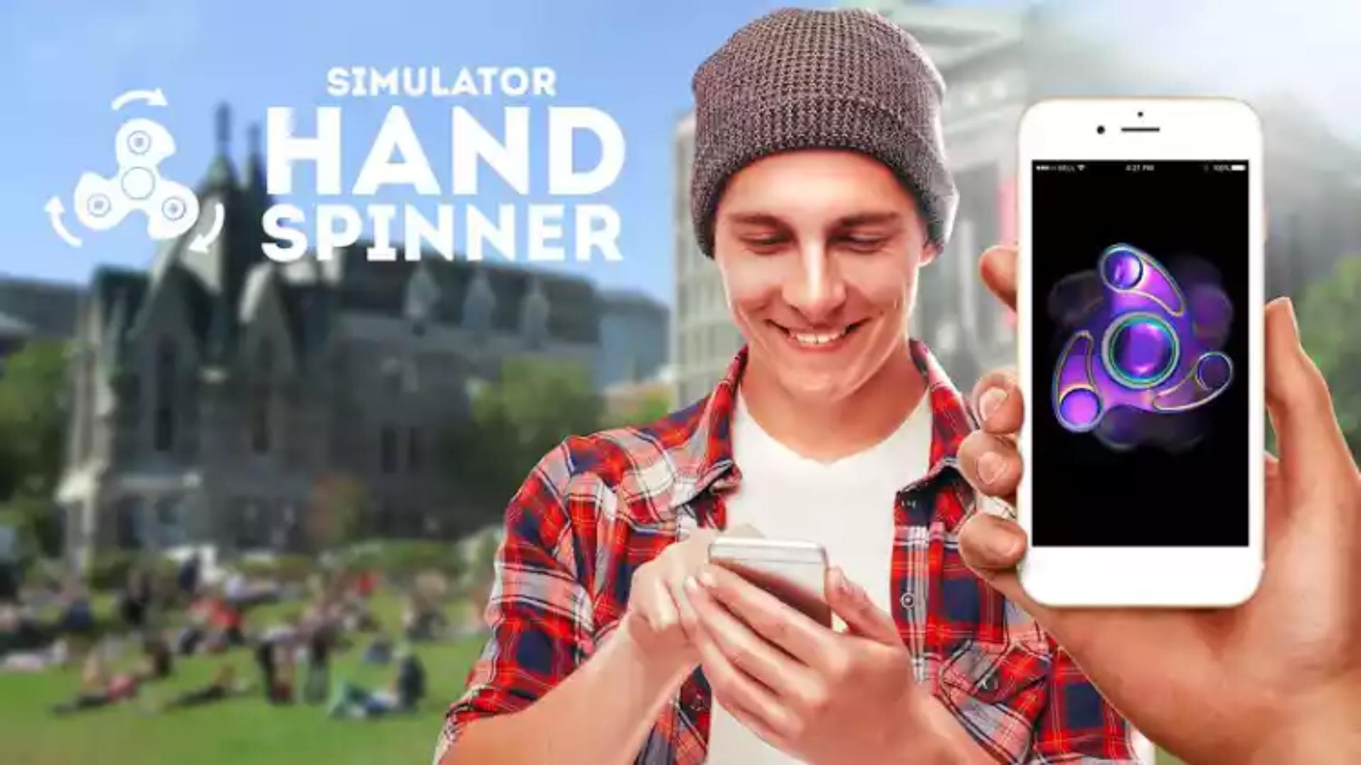Una app lleva los fidget spinners a los smartphones