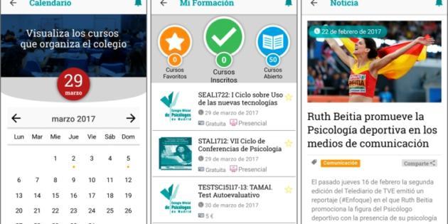 El Colegio Oficial de Psicólogos de Madrid lanza su aplicación móvil