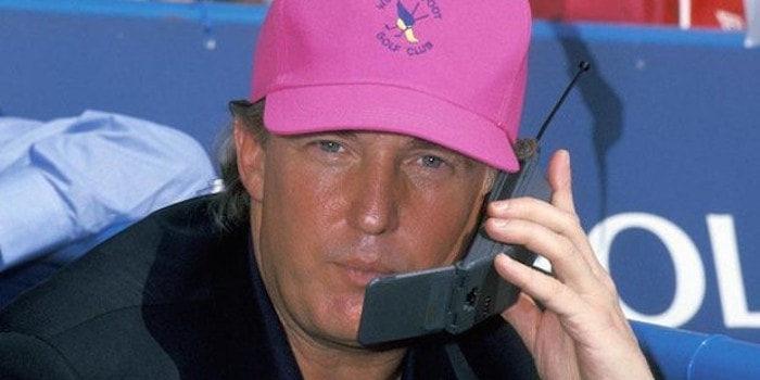 Esta es la única app que Donald Trump tiene instalada en su smartphone