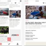 JoinIn, una herramienta colaborativa para mejorar el mundo