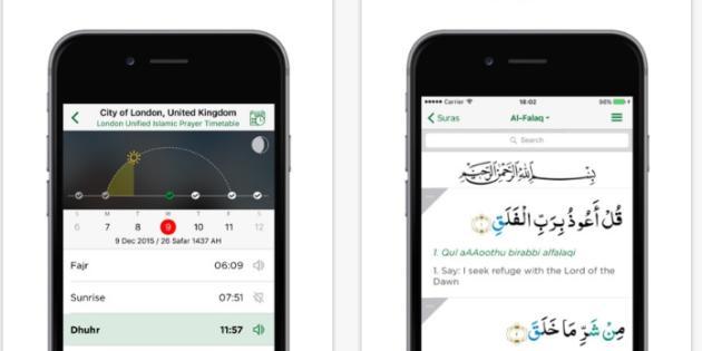Sigue el Ramadán con Muslim Pro