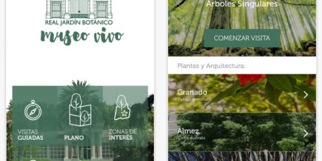 El Real Jardín Botánico estrena aplicación móvil