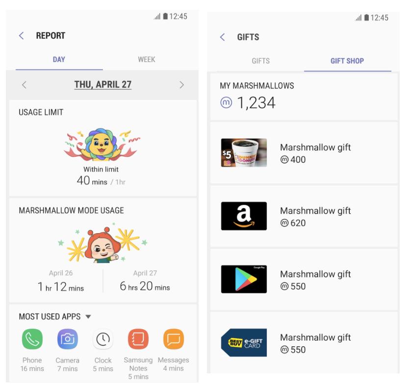Samsung lanza una app para que los niños limiten su tiempo de uso del smartphone