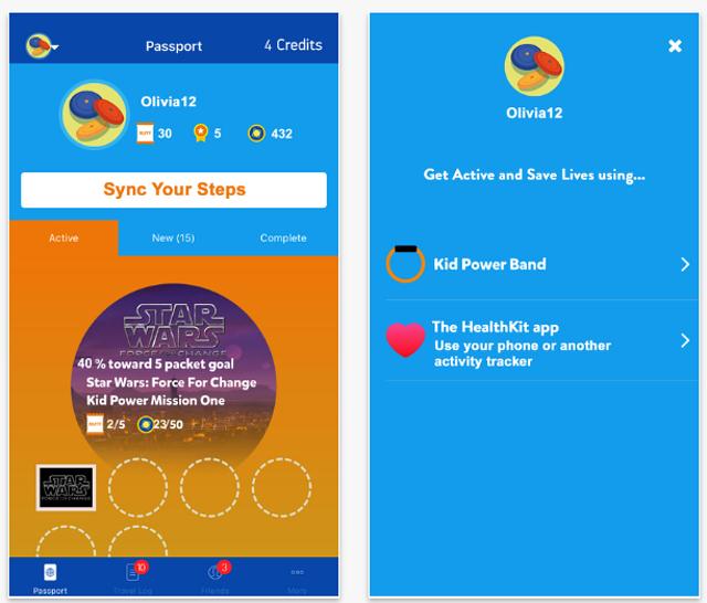 UNICEF crea una app para convertir tu actividad física en comida para los más necesitados