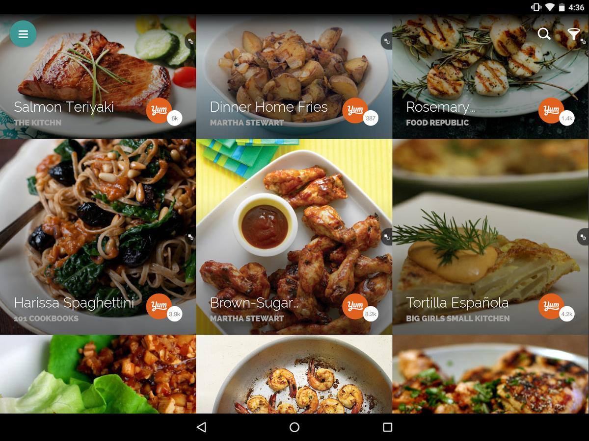 La app de recetas Yummly, adquirida por Whirlpool