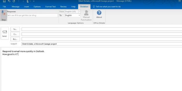 Microsoft trabaja en una app de dictado para Office