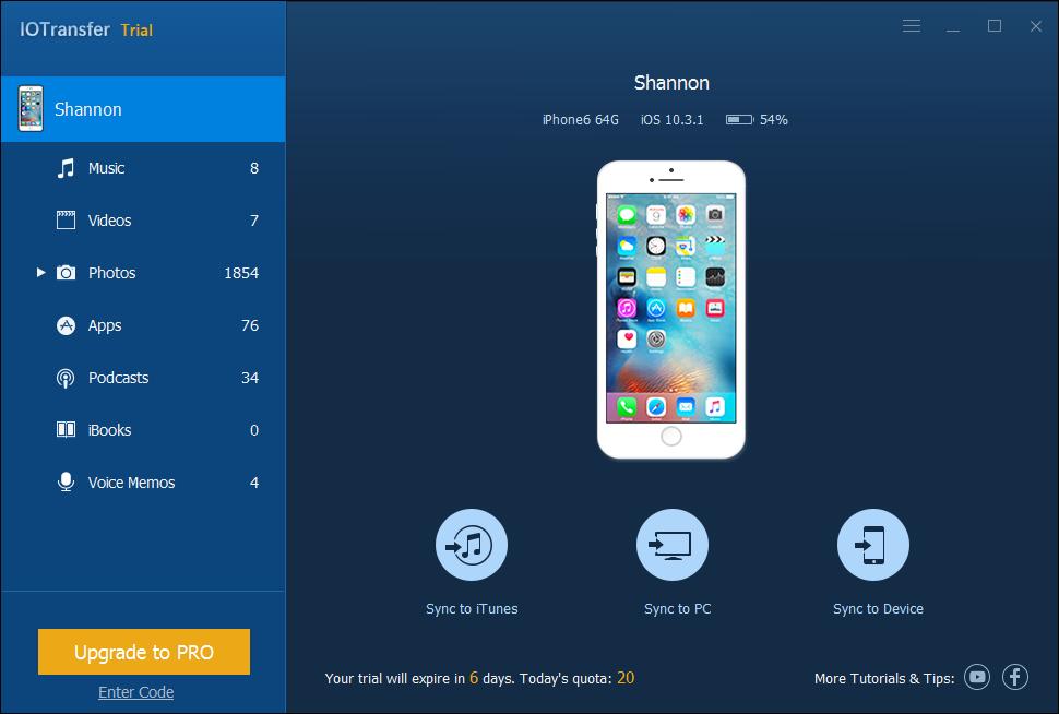 La herramienta gratuita para transferir archivos del iPhone que puedes usar como sustituta de iTunes