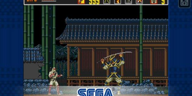 El clásico The Revenge of Shinobi aterriza en iOS y Android