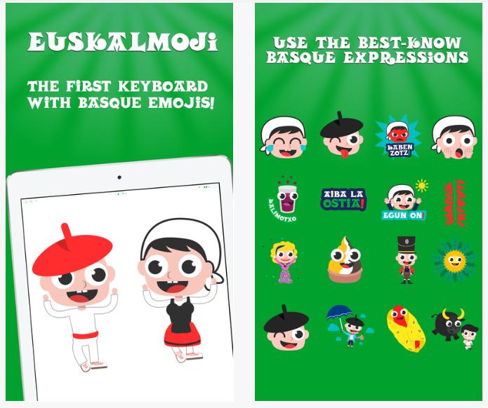 Euskalmoji, el teclado con emoticonos vascos que hace furor en Google Play