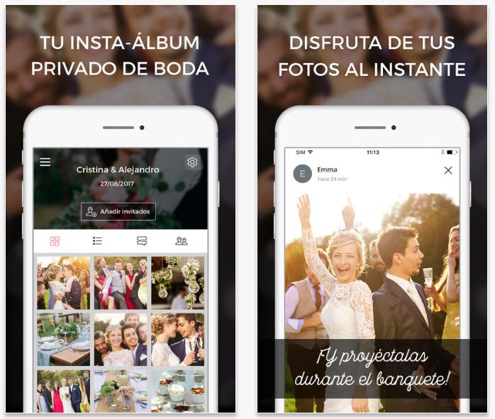 Wedshoots, la app para organizar todas las fotos de tu boda