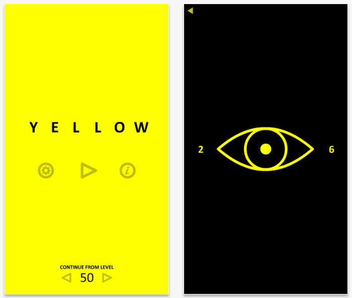 Yellow, el juego que te hará teñirlo todo de amarillo