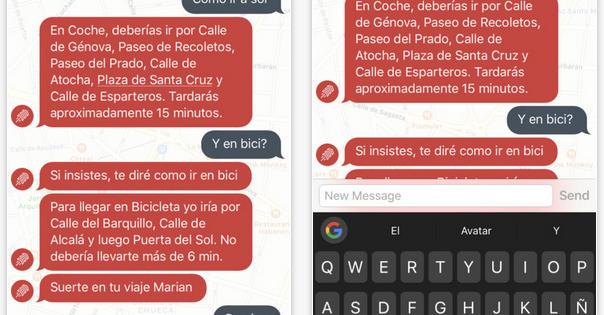Faster.city, el chatbot que te guía por las calles de Madrid