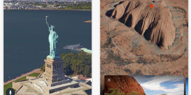La nueva versión de Google Earth aterriza en iOS