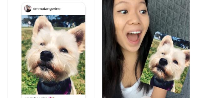 Instagram incluye una nueva función para convertir las imágenes recibidas por DM en stickers