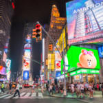 Line abre una tienda en pleno Times Square