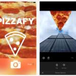 Pizzafy, la app que acompaña cualquier foto con porciones de pizza