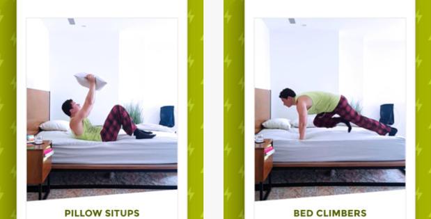 Wakeout, la app para ponerte cachas sin salir de la cama