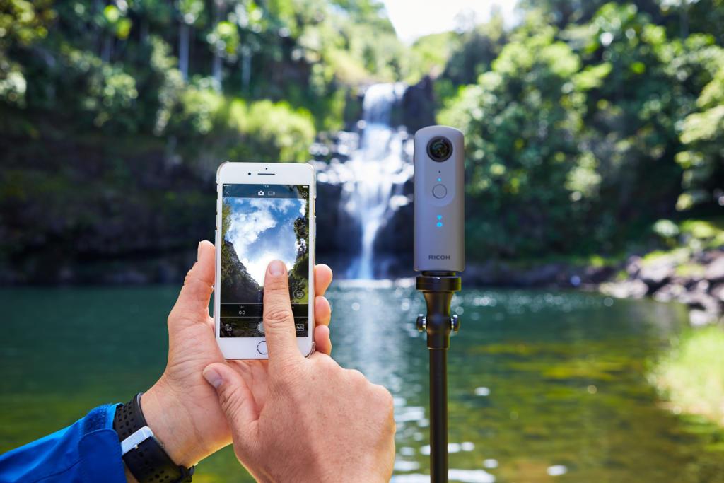 Ricoh se apoya en los desarrolladores de apps para mejorar sus cámaras Theta