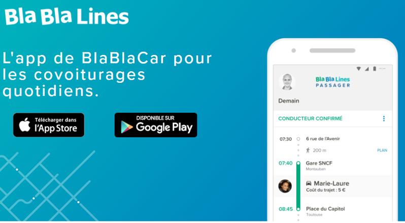Blablalines, el nuevo servicio urbano de Blablacar