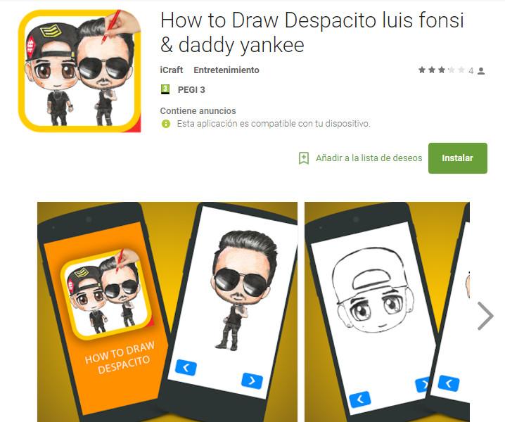 Despacito de Luis Fonsi, un reclamo para los desarrolladores de Android