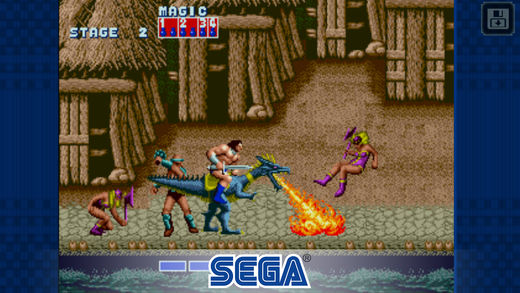 Golden Axe ya está disponible para dispositivos móviles
