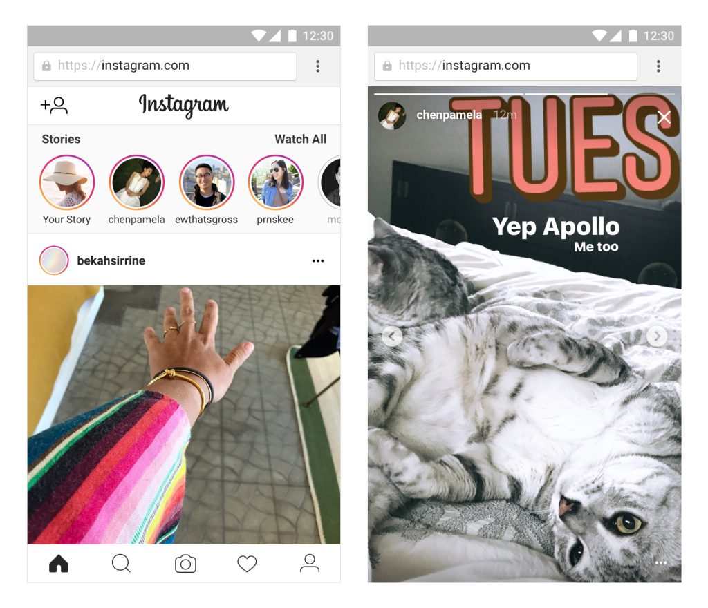 Las Instagram Stories Tambien Estaran Disponibles En La Version Web