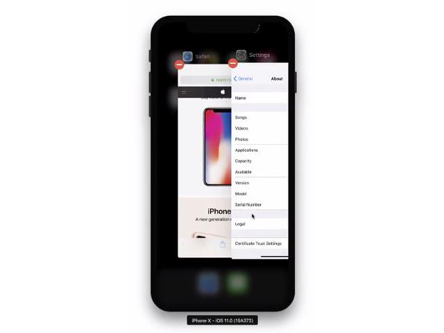 Así se cierran las apps en el nuevo iPhone X