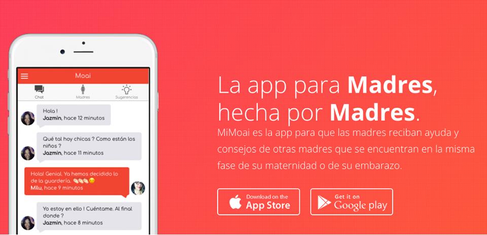 MiMoai, la app para madres embarazadas hartas de los grupos de WhatsApp