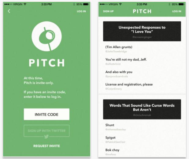 Pitch, la app que lleva el crowdsourcing al mundo de la comedia
