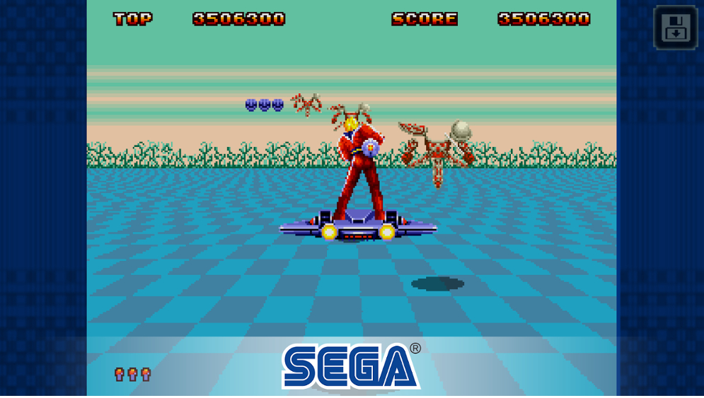 Space Harrier II viaja del pasado al presente y ya está disponible para iOS y Android